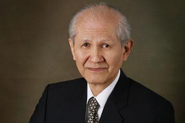 Почётный профессор СФУ Осаму Шимомура